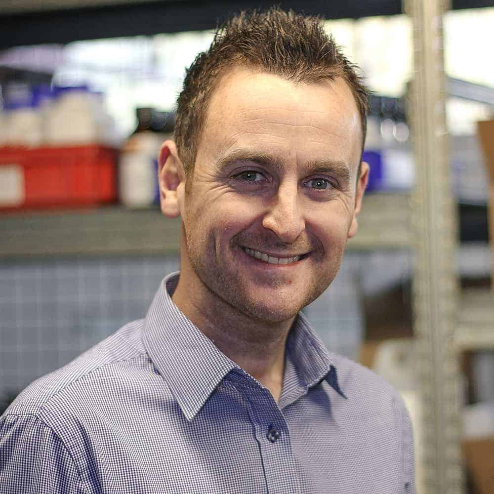 Simon Tasker, managing director at ReAgent Chemicals