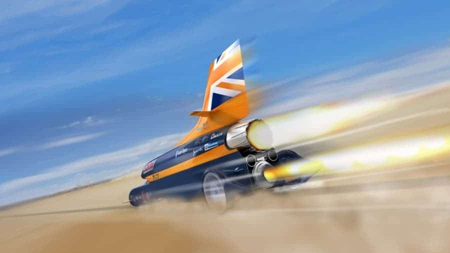 Case Study: ReAgent Takes Part in Land Speed World Record Attempt with The BLOODHOUND Project