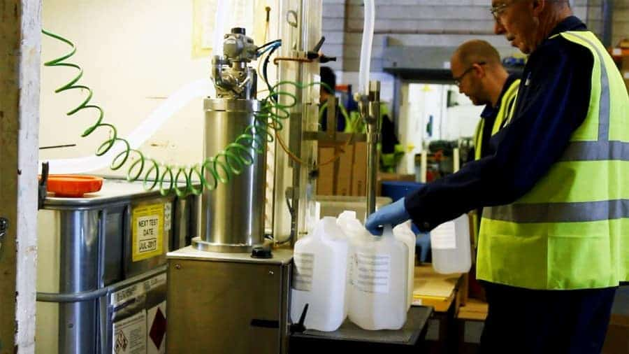 What Types of Chemical Contract Manufacturing Does ReAgent Provide - Contract Bottling