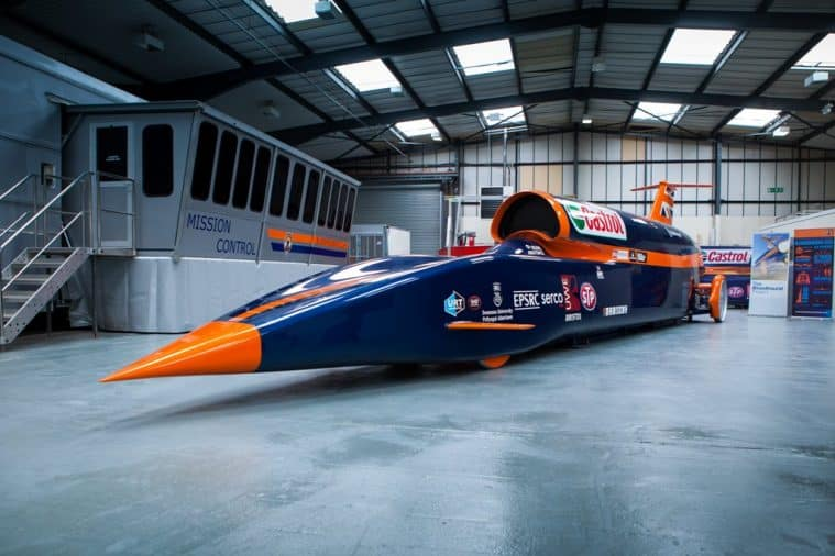 The SuperSonic designed by BLOODHOUND Project