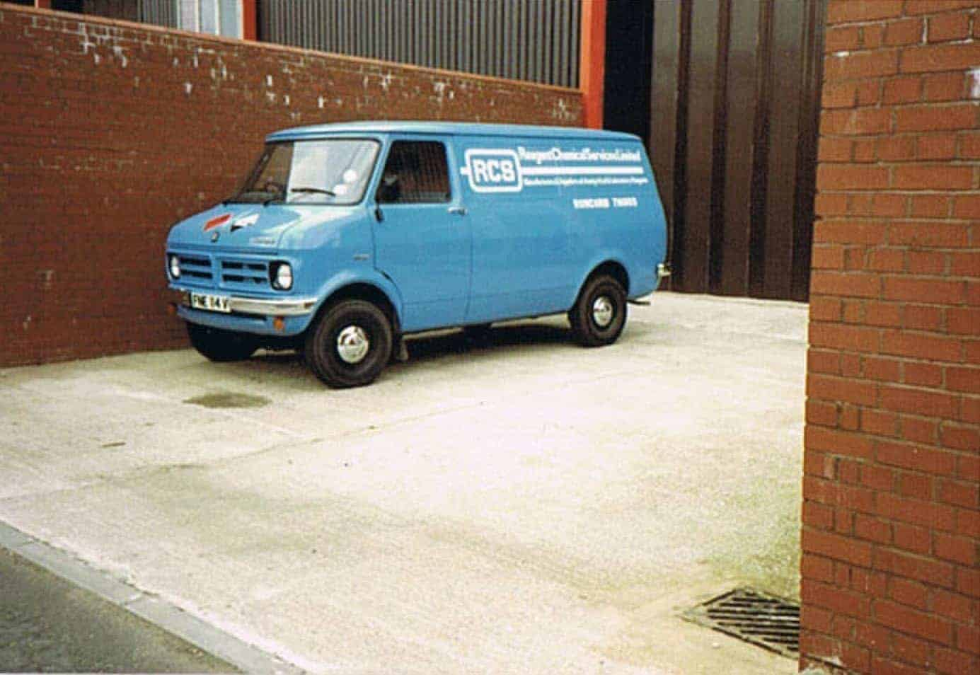 One of ReAgent's oldest vans