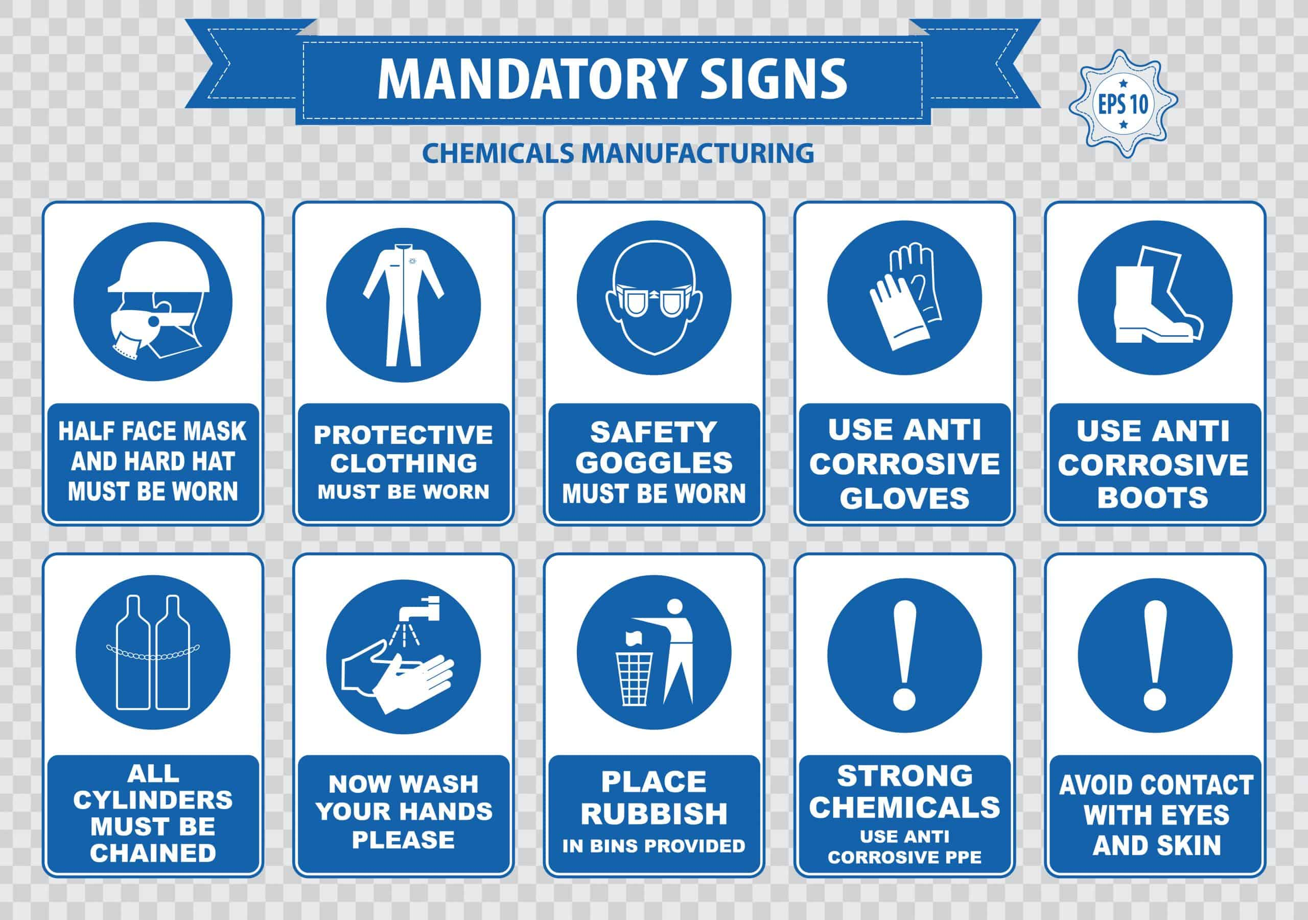 Key chemical manufacturing regulations