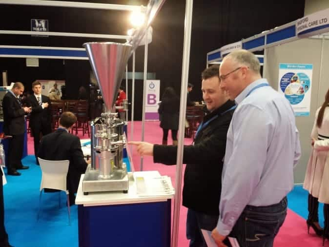 Always interested in manufacturing, this is Simon with ReAgent's Sales Director Darren Wilson