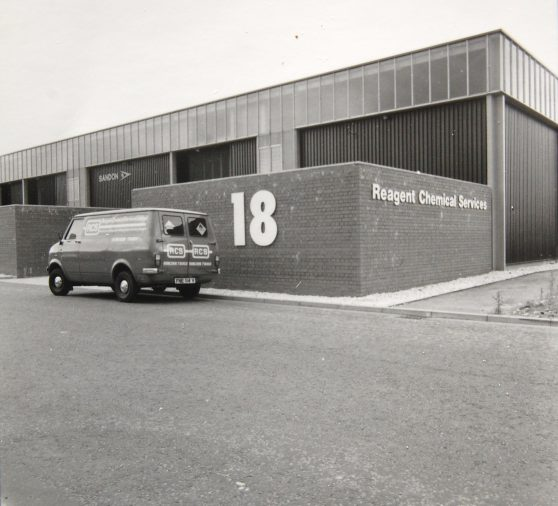 One of ReAgent's oldest delivery vans
