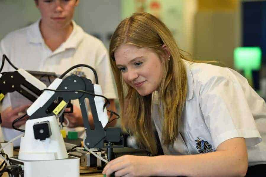 There's a shortage of girls studying STEM-related subjects