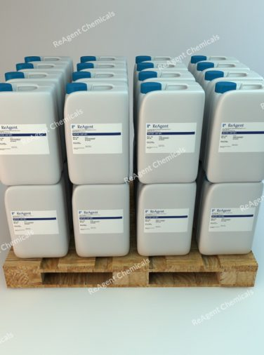 USP Purified Water packed on a pallet pack size available from Chemicals.co.uk