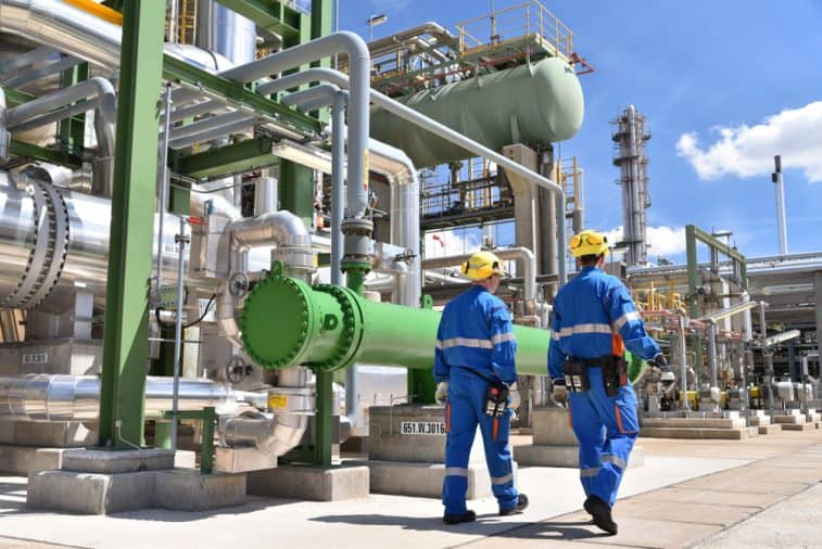 Workers in chemical plants must follow chemical manufacturing regulations